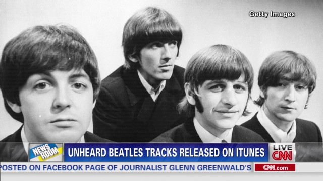 Unheard Beatles tracks go on sale