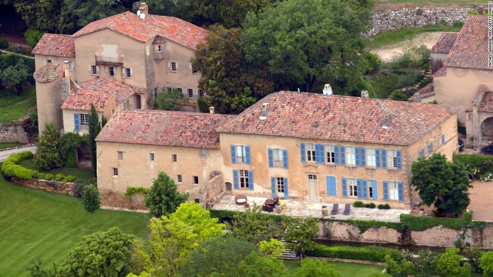 """In 2008 Pitt and Jolie bought Chateau Miraval, a vineyard estate in southeastern France. In November 2013, their Jolie-Pitt & Perrin Côtes de Provence Rosé Miraval wine made the <a href=""""http://2013.top100.winespectator.com/list/"""" target=""""_blank"""">Wine Spectator's Top 100 Wines of 2013 list. </a>"""