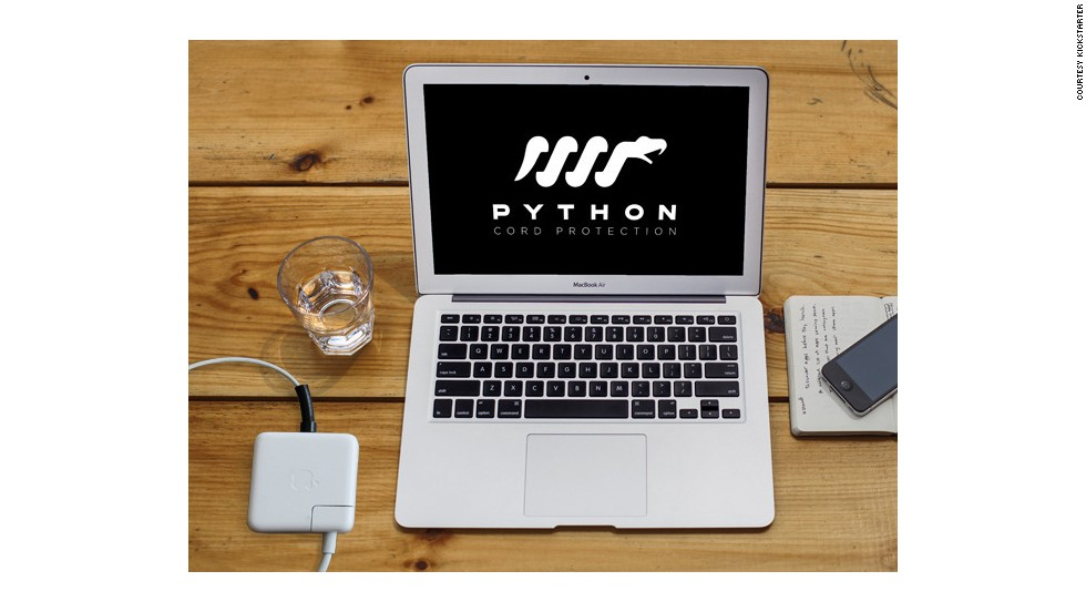 "<strong>14. <a href=""http://www.kickstarter.com/projects/526534777/python-cords-utilitarian-macbook-charger-protectio"" target=""_blank""><strong></strong>Python Cords - MacBook Charger Protection</a></strong>"