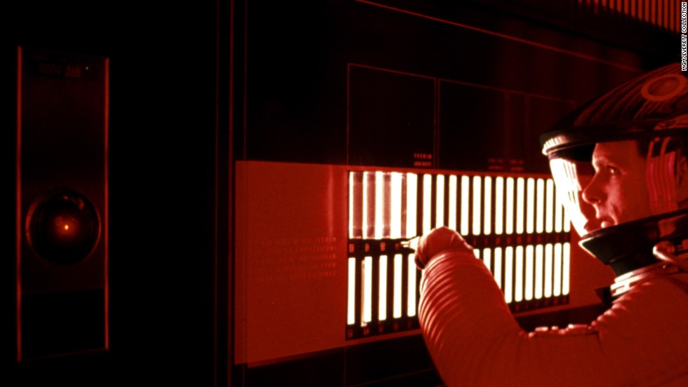 "Hal 9000, from ""2001: A Space Odyssey,"" represented our fears of technology gone awry."