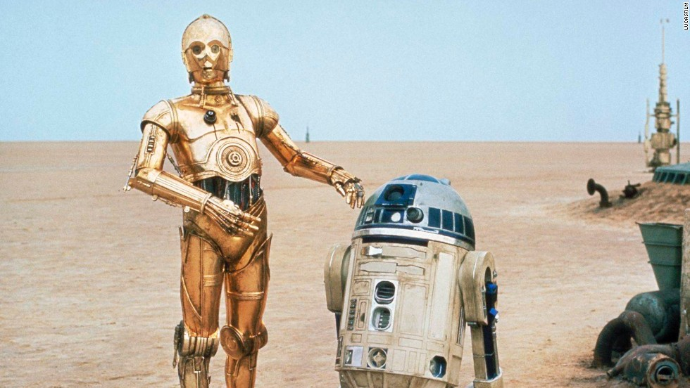 "R2-D2 and C-3PO from ""Star Wars"" familiarized, and personalized, robots for millions of viewers."