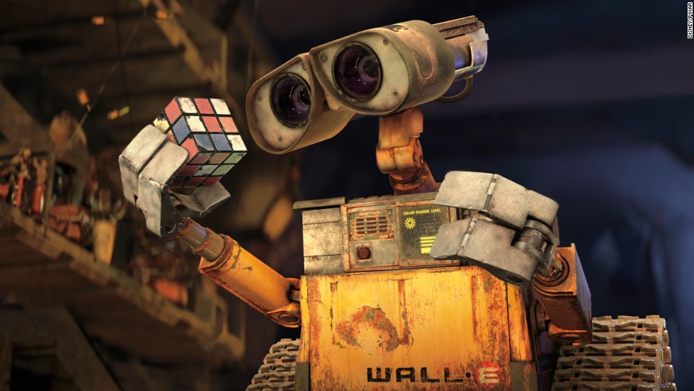 """Wall-E,"" from 2008, won the Academy Award for Best Animated Feature."
