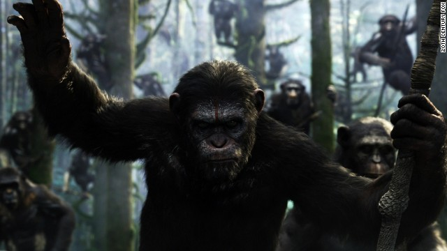 """Dawn of the Plane of the Apes"" stars Jason Clarke, Gary Oldman and Keri Russell."