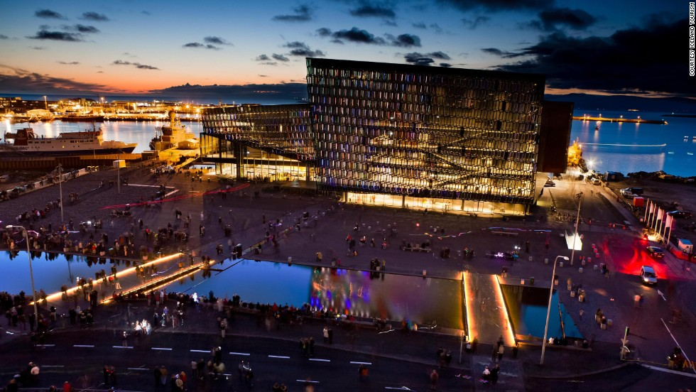 December 31 sees crowds converge on 10 bonfires lit around Iceland's capital before revelers make their way to Hallgrimskirkja church, a dramatic 73-meter-high building designed to resemble the country's lava flows.