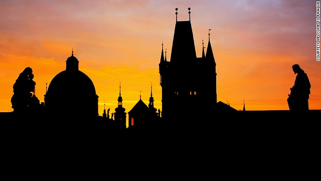 In Prague, not all vantage points are created equal.