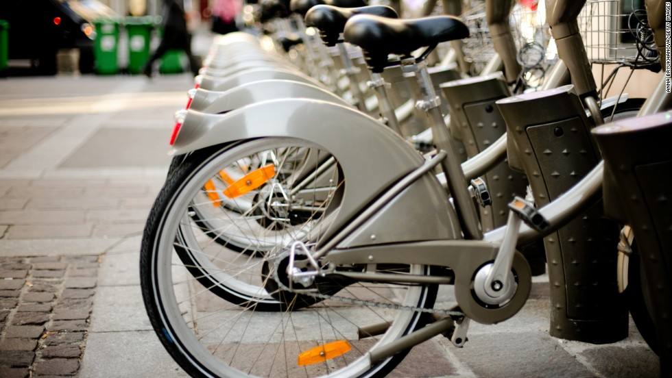 "<strong>Best: Bike-sharing programs</strong><br /><br />Now, in dozens of cities across the United States, exercise can actually save you time. So bypass traffic and get a bike pass: One four-year study of 822 adults found that bike commuters gain less weight over the years than car commuters. <br /><br />Besides toning your legs, increasing your heart rate, and strengthening your core, biking can seriously boost your energy. One study in Psychotherapy and Psychosomatics found that biking decreases fatigue by 65%.<br /><br /><a href=""http://www.health.com/health/gallery/0,,20488021,00.html"" target=""_blank"">Health.com: How to lose weight biking </a>"