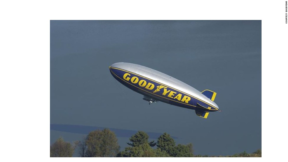This football season, Goodyear's three blimps are set to hover over eight college football bowls, including Atlanta's Chick-fil-A Bowl, Florida's Orange Bowl, California's Rose Bowl, Arizona's Fiesta Bowl, Louisiana's Sugar Bowl and the National Championship on January 6 in Pasadena, California.