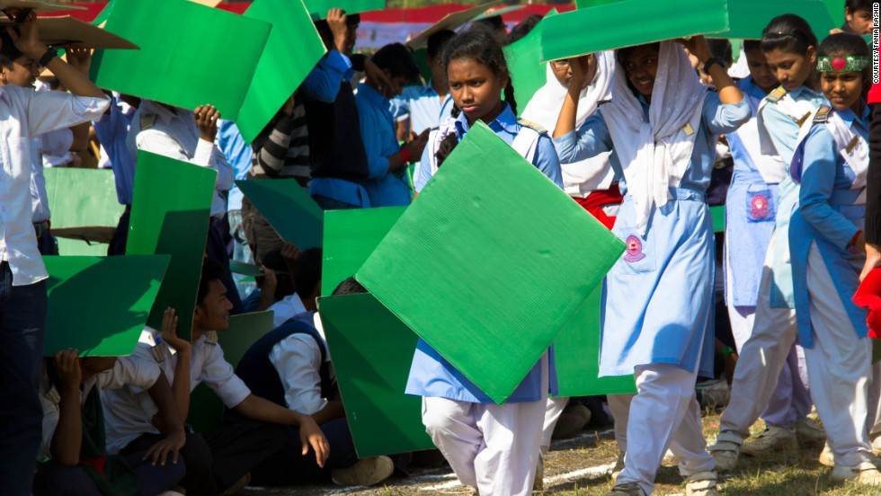 At least one million people died during the nine-month war that led to Bangladesh's independence from Pakistan in 1971.