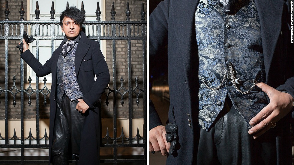 "<em>Robin Dutt </em><br /><br />Robin Dutt is a writer, stylist, and professor of fashion. He exudes a dark flamboyance, and a Byronic intensity which comes through when he speaks: ""I love wearing items that speak silently and eloquently of the past. Sometimes even carrying a bus ticket from a sixties vintage jacket in a pocket is enough to keep the romance and feeling alive."""