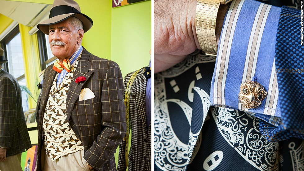 "<em>Domenico Spano</em><br /><br />Domenico Spano, former director of menswear at Bergdorf Goodman and Saks Fifth Avenue, is something of a New York icon. He worked his way up in fashion, starting as a salesman, and today runs his own custom menswear business designing colorful clothes inspired by the golden age of Hollywood. He sums up his sartorial philosophy as follows: ""Everyone thinks they have to do a modified version. I didn't modify anything. It's already perfect."""
