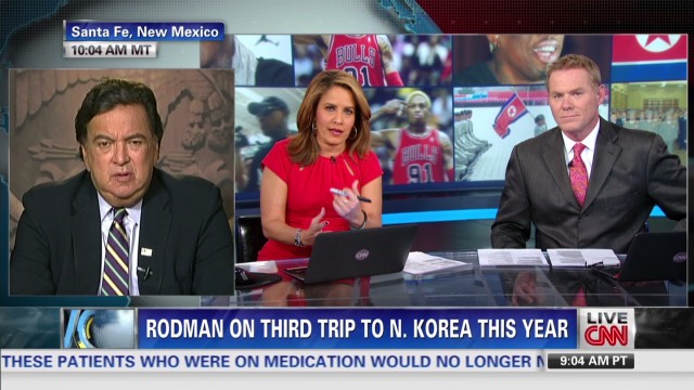 "Rodman in North Korea to ""have some fun"""