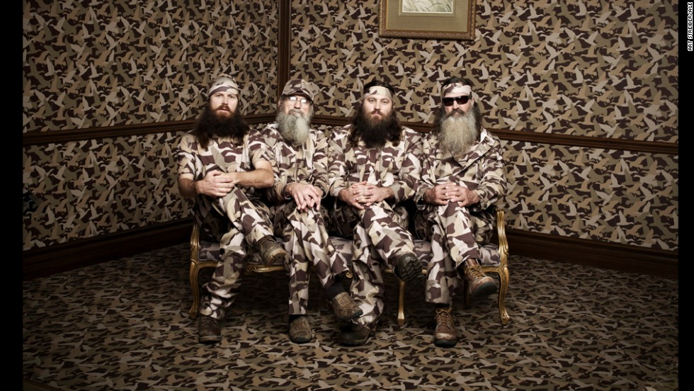 "Jase, Si, Willie and Phil Robertson star in the A&E television series ""Duck Dynasty."" The popular reality show follows a Louisiana family that became rich through Duck Commander, a business making products for duck hunters."