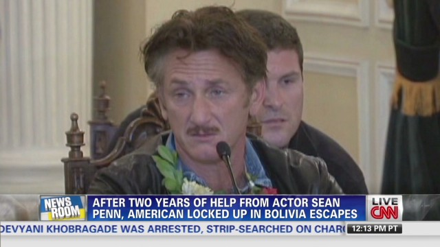 Sean Penn helps American escape Bolivia?