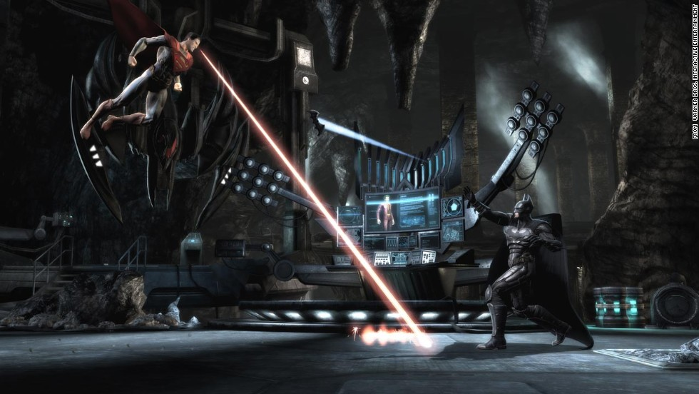 """Probably the best fighting game of the year, """"Injustice: Gods Among Us"""" layered an exciting story from DC Comics over """"Mortal Kombat""""-like moves to create a wonderfully enjoyable title. Despite no fatalities, the new super moves are awesome."""