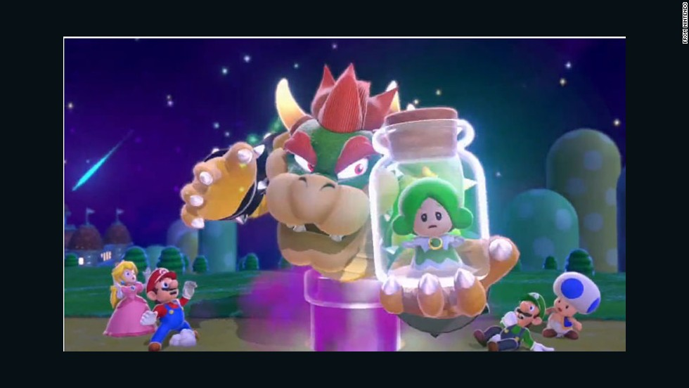 """Mario's turned into a raccoon, so why not a cat? Mario, Luigi, and their pals returned for """"Super Mario 3D World."""" The foes are familiar, but the 3D landscape makes for fun new exploration and new powers liven things up as you rescue fairies (not the Princess)."""