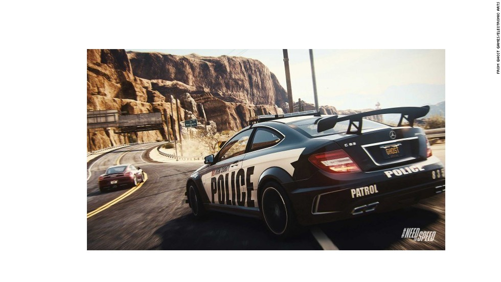 """Street-racing outlaw or risk-taking police officer? """"Need for Speed Rivals"""" let you play both sides with high-performance cars and online friends from around the world."""