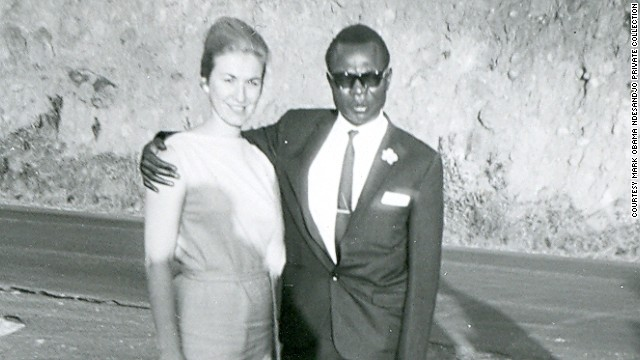 Barack Obama's father with his third wife, Mark Obama Ndesandjo's mother.