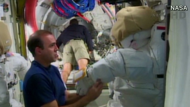 Emergency spacewalks planned at ISS