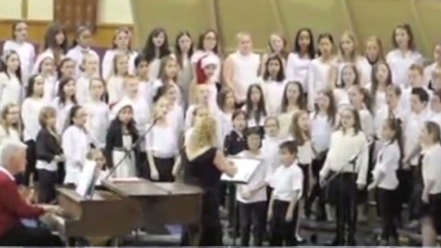 Choir's 'Silent Night' omits Christ