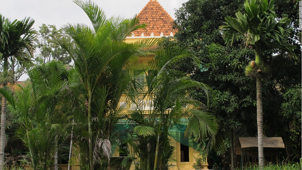 This century-old French colonial style hotel was owned by the Cambodian People's Party, and then sold to a private developer in murky circumstances.