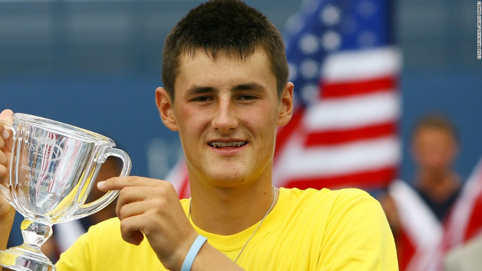 In 2009 Tomic became the first Australian to win the U.S. Open boys' title in 25 years  when he beat American Chase Buchanan.