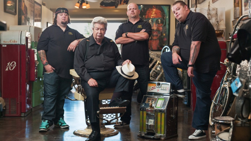 "History Channel's ""Pawn Stars"" is once again CNN readers' pick for their third-favorite reality show. The docuseries, which follows the Vegas-based Harrison family and their pawn shop, has been on the air since 2009."