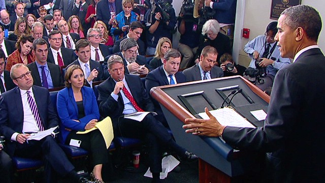 Obama press conference gets feisty