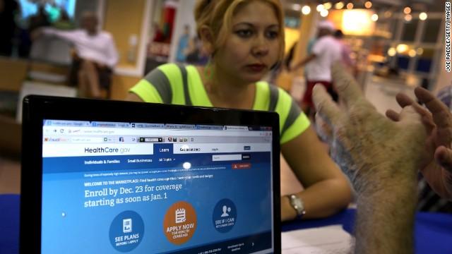 El portal de Obamacare sigue trabajando