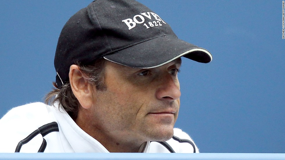 Piles, pictured, once locked a teenaged Ferrer into a room because he was ill disciplined. Ferrer is now one of the hardest workers in tennis. The world No. 3 has now turned to former Spanish pro Jose Altur.