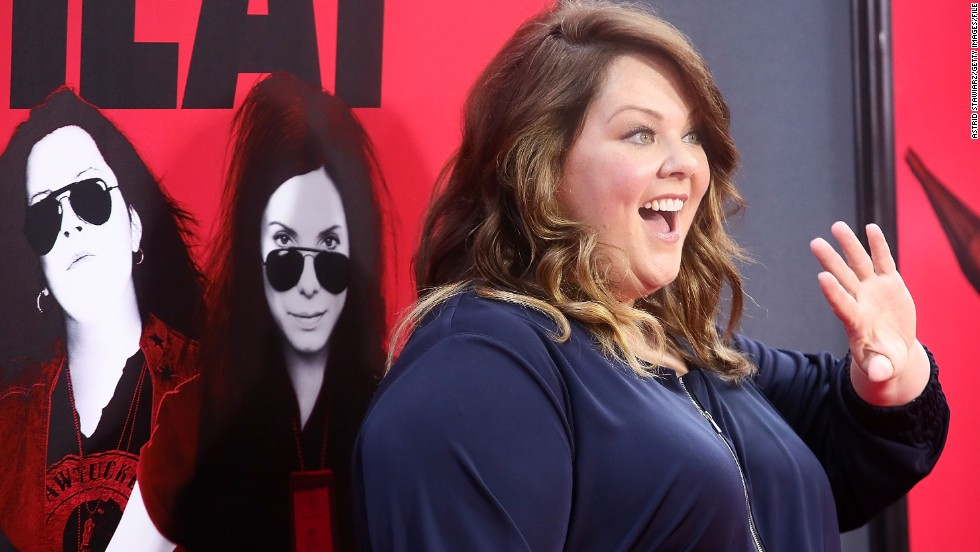 "<strong>No. 5</strong>: CNN readers adore Melissa McCarthy, and the box office proves it. The actress, who also stars on the sitcom ""Mike & Molly,"" killed it at the movies this year with ""Identity Thief"" and summer blockbuster ""The Heat."""