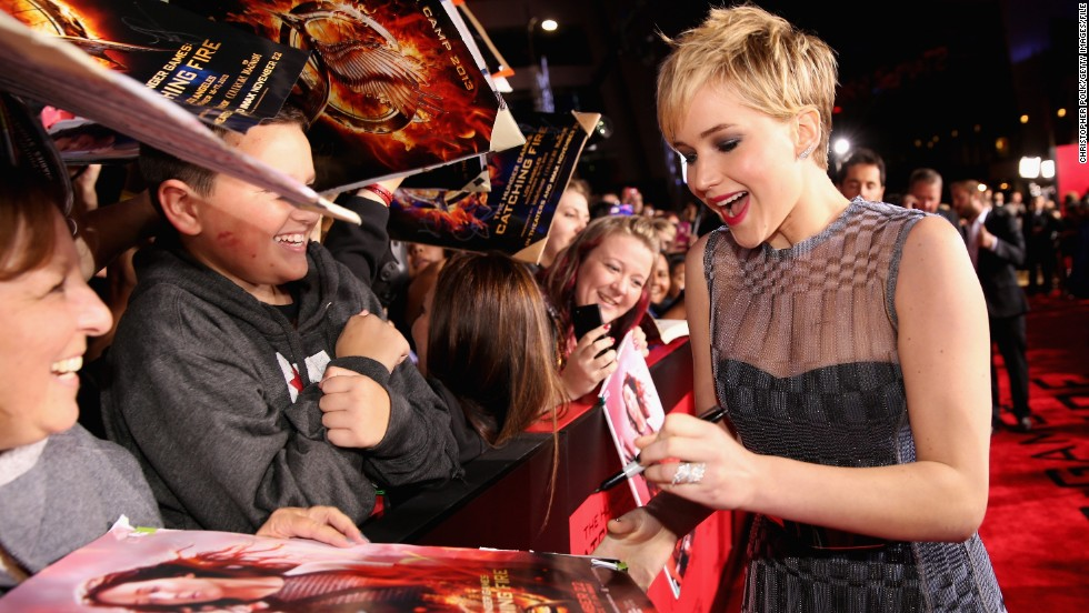 "<strong>No. 1:</strong> This has to be the most unsurprising win for Jennifer Lawrence, ever. Is it even possible to find someone who <em>doesn't </em>adore this actress? And, if we may, that adoration is well-earned: After sweeping up her first Oscar, Lawrence got right back to work with this year's ""The Hunger Games: Catching Fire"" and ""American Hustle,"" both of which have earned the 23-year-old rave reveiws."