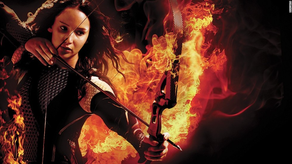 "<strong>No. 1:</strong> With ""The Hunger Games: Catching Fire,"" Jennifer Lawrence is two-for-two. Not only is she the favorite female celebrity of 2013 for CNN's readers, but she also starred in their favorite film of the year. Coincidence? We think not."