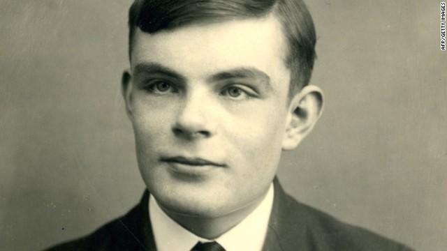 Alan Turing in 1928.