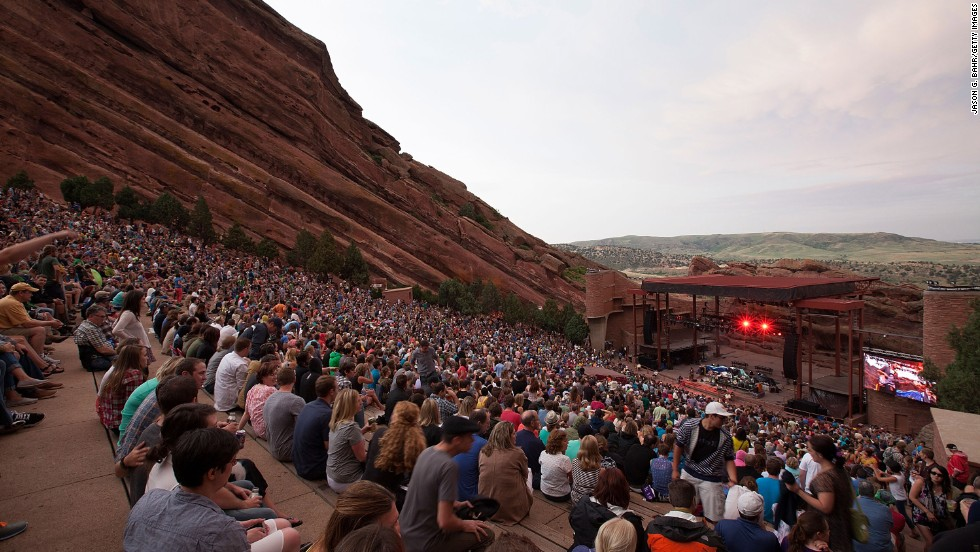 "Hike or bike or enjoy a concert or film at <a href=""http://www.redrocksonline.com"" target=""_blank"">Red Rocks Park and Amphitheatre</a>, more than 6,400 feet above sea level. While Red Rocks isn't the only place to hear great music in the area, it claims to be the only naturally occurring, acoustically perfect amphitheater in the world. It has hosted some of the greatest bands in the world -- including the Beatles, 50 years ago this year."