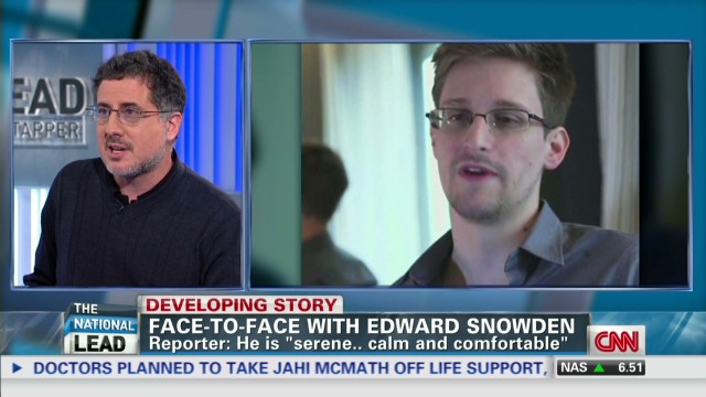Gellman: Snowden's mission accomplished