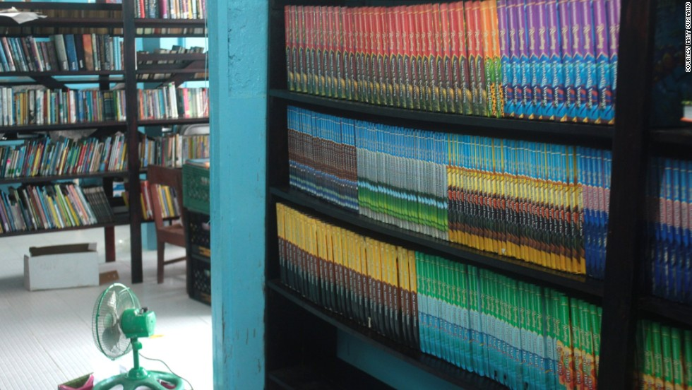 A library in the Guyana village of Sandvoort was completed in November. With a budget of about $5,000, the community agreed to front nearly 30% of the costs.