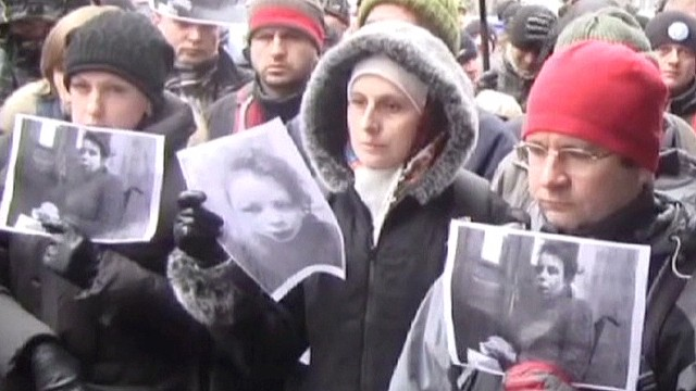 Ukrainian journalist beaten