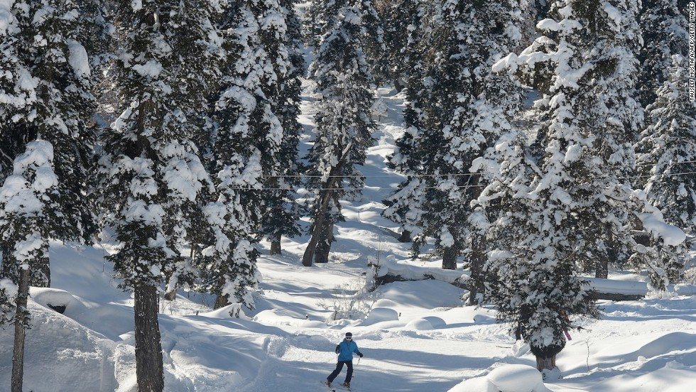The Poma slopes -- so-called because of the type of lifts that lead to them -- are great for beginners and include some beautiful runs through the forests that encircle the resort.