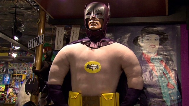 Man wins world record for Batman items