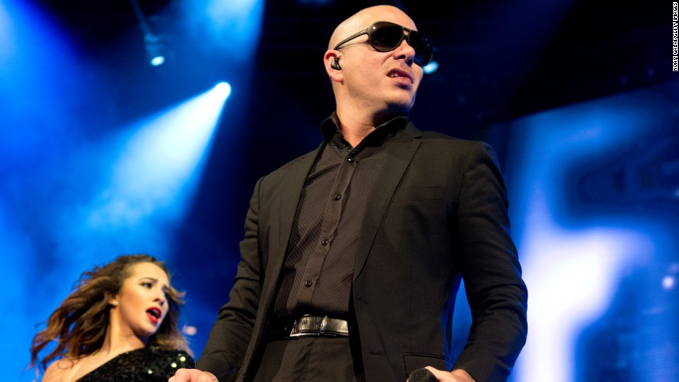 Pitbull performs at the Barclays Center on December 26 in New York City.