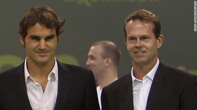 Roger Federer join forces with former great Stefan Edberg for the 2014 season.