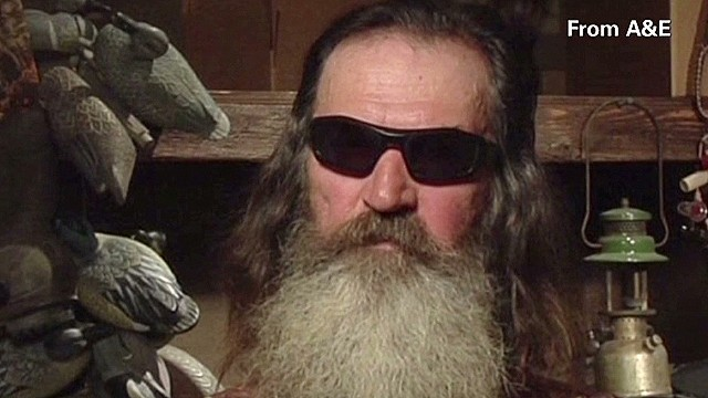 A&E lifts suspension on 'Duck Dynasty' star