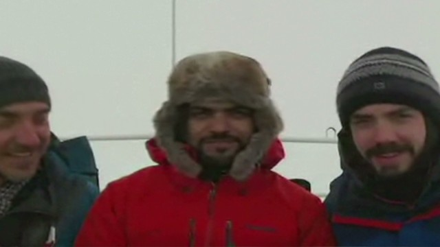 Antarctic crew amazed by viral fame