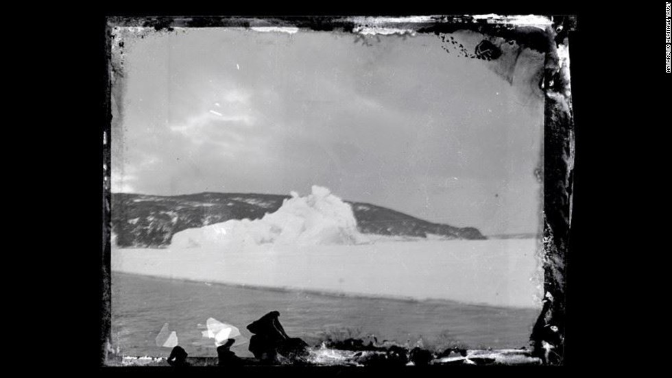 Photographic negatives left a century ago at an expedition base at Cape Evans, Antarctica, were discovered and conserved by New Zealand's Antarctic Heritage Trust on December 10.