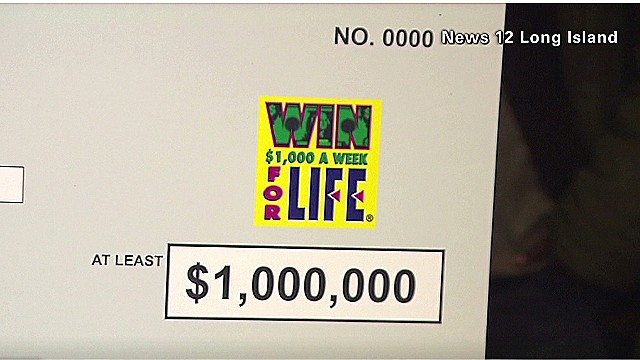 Landscaper finds $1 million lotto ticket