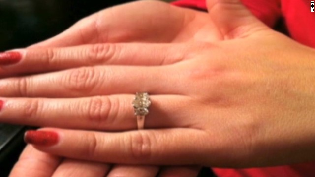 Lost engagement ring found 6 years later