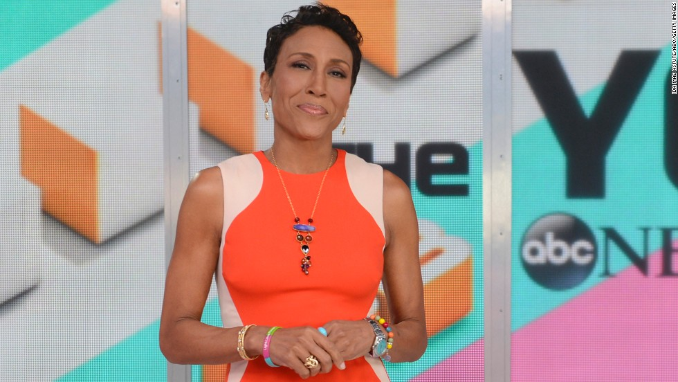 "In December 2013, ""Good Morning America"" anchor Robin Roberts came out as a lesbian in a <a href=""https://www.facebook.com/photo.php?fbid=378662368936659&set=a.216479948488236.54140.100003786976400&type=1"" target=""_blank"">Facebook post </a>reflecting on the past year and thanking fans for their support after her bone marrow transplant. It was also the first public acknowledgment of her partner, Amber Laign. ""I am grateful for my entire family, my longtime girlfriend Amber, and friends as we prepare to celebrate a glorious new year together,"" Roberts wrote."