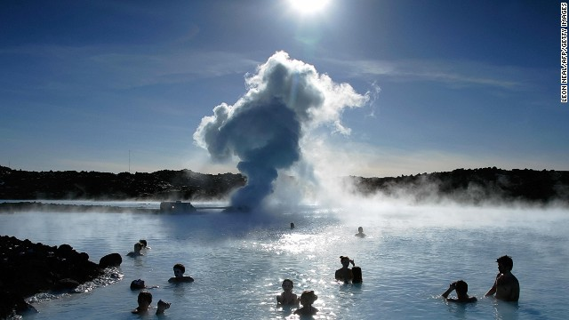 Minerals galore at Iceland's Blue Lagoon.