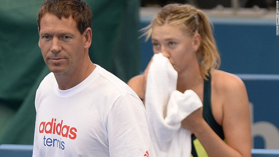 The Russian has been working with coach Sven Groeneveld since splitting with Jimmy Connors after one match last August, and recovering from a recurring shoulder problem.