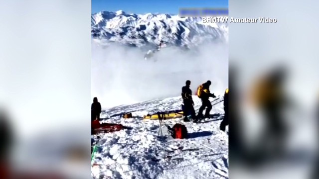 New video of Schumacher being airlifted